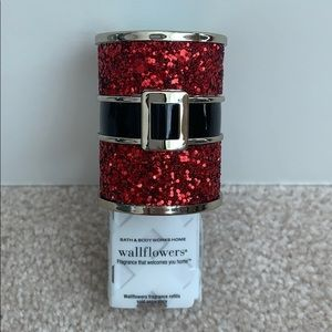 Bath & Body Works Santa's belt wallflower plug